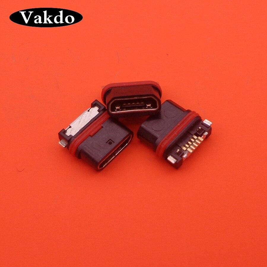 3 unids/lote puerto de carga Micro USB para Sony Z5 Compact E5803 E5823 Z5mini Z5C Flex Cable Dock Connector pieza de repuesto