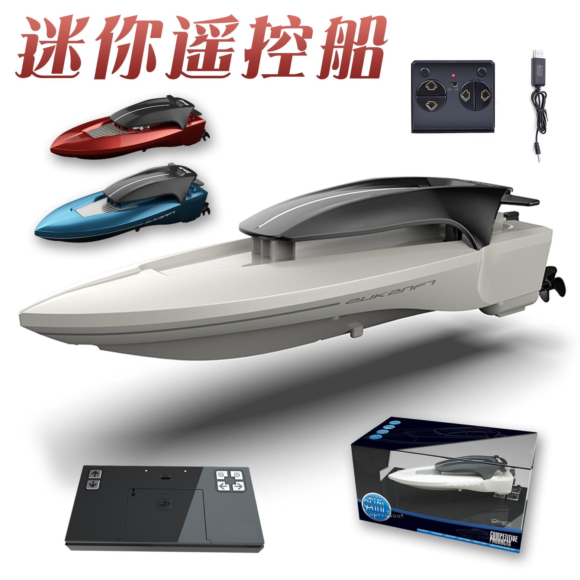 Carcasa de modelo para Barco a Control remoto, controlador de batería, Motor...