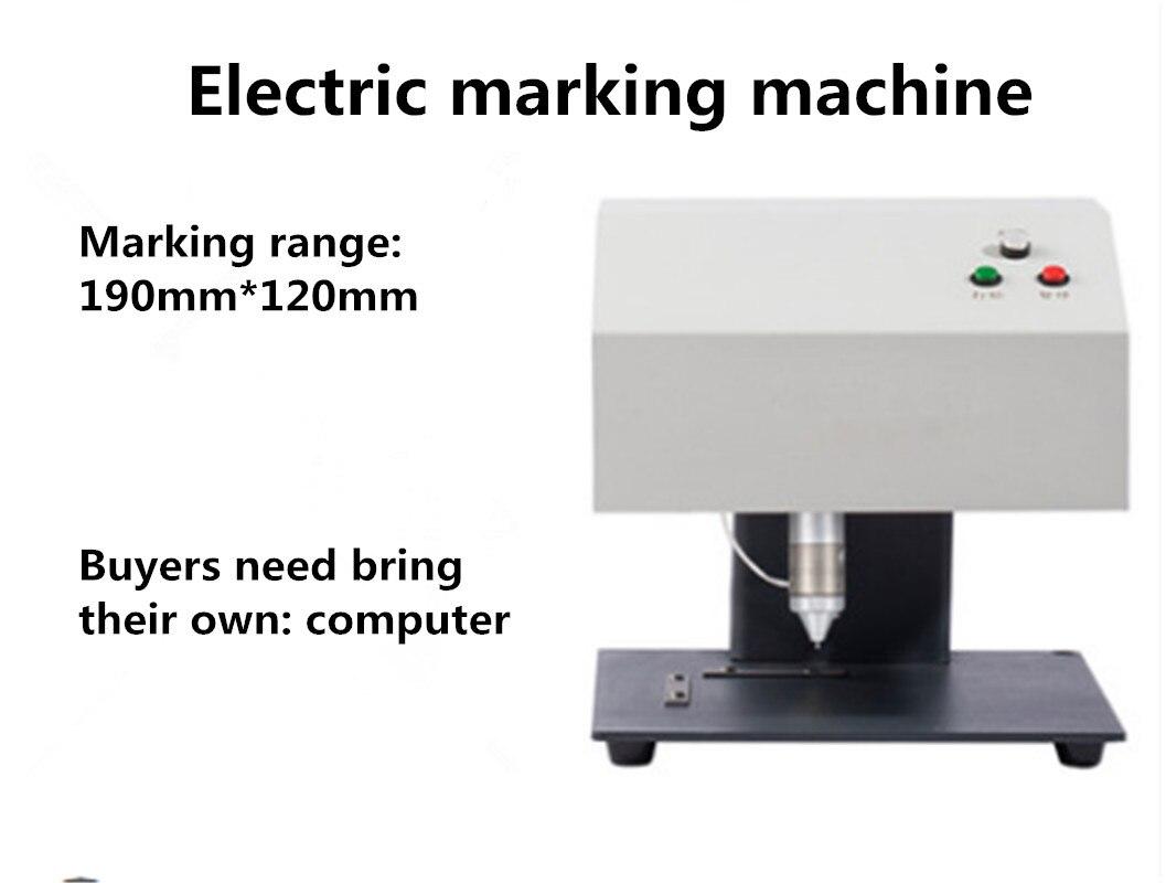 Портативная маркировочная машина для кода VIN, пневматическая точечная маркировочная машина 110/220 в 200 Вт
