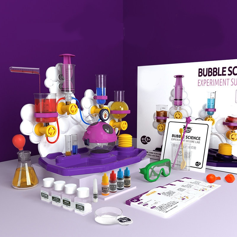 Kids Science Laboratory Teaching Aids Toys Kit Educational Toys For Children Funny Chemical Tools ST