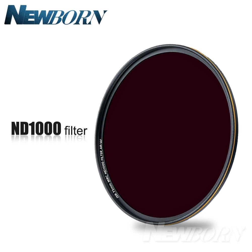 52 58 67 72 77 82Mm Neutral Density ND1000 Nd 1000 Optische Glazen Lens Filter Voor Canon Nikon Sony pentax Olympus Camera Lenzen
