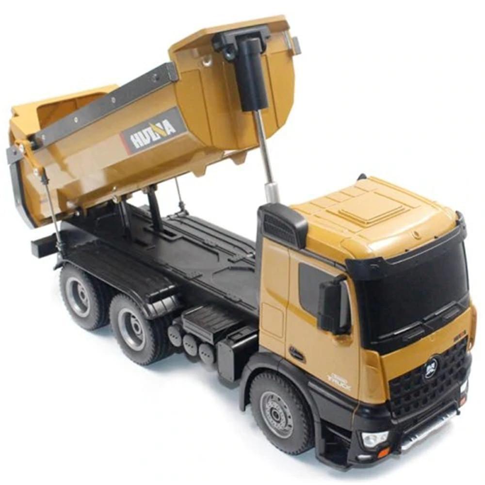 fast free dropship Huina 1573 RC Big Dump Truck 1/14 10 channels 2.4GHz 7.2V 400mAh from EU/USA/CANADA/AUSTRALIA