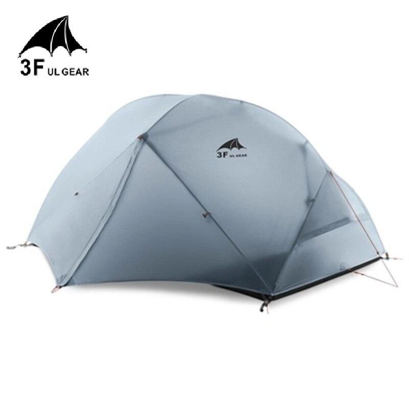 3F UL GEAR خيمة تخييم لشخصين خفيفة كامب خيام تيندا تنتي باراكا دي أكامامنتو