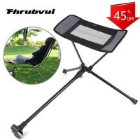 portable stool collapsible footstool for camping beach chair folding fishing outdoor bbq camping chair foot recliner foot rest