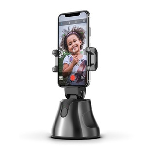 Smartphone Selfie Shooting Gimbal 360 Face & Object Follow Up Selfie Stick for Photo Vlog Live Video Record