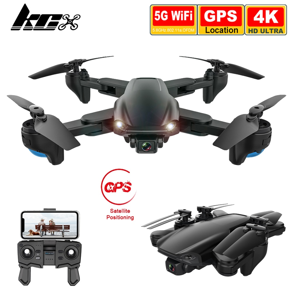 KCX SG701S Drone with Camera 4K Hd GPS Professional 5G WiFi FPV Altitude Hold Foldable RC Quadcopter
