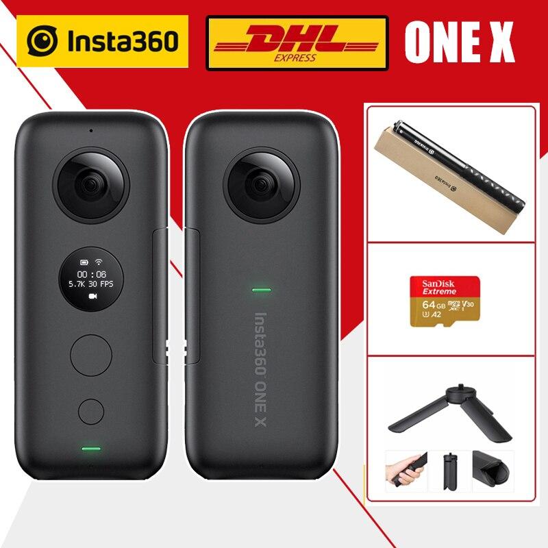 В наличии Insta360 ONE X Экшн камера 5 7 K видео 18MP фото VR Водонепроницаемая Insta 360 ONEX Мини