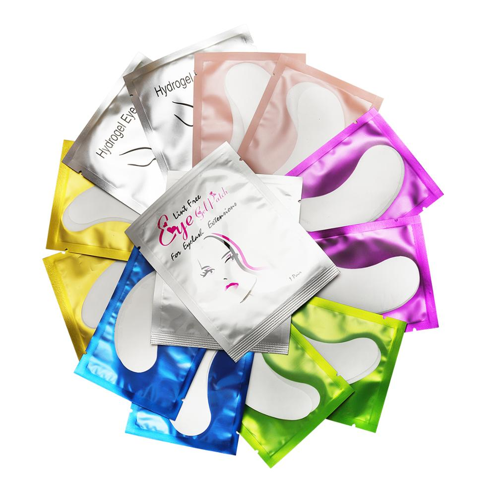 Eye pads Eyelashes Patch 50/500 pairs Eye Pads Patch Eyelashes Pads Eye Under for Eyelash Extension False Lashes Stickers Paper