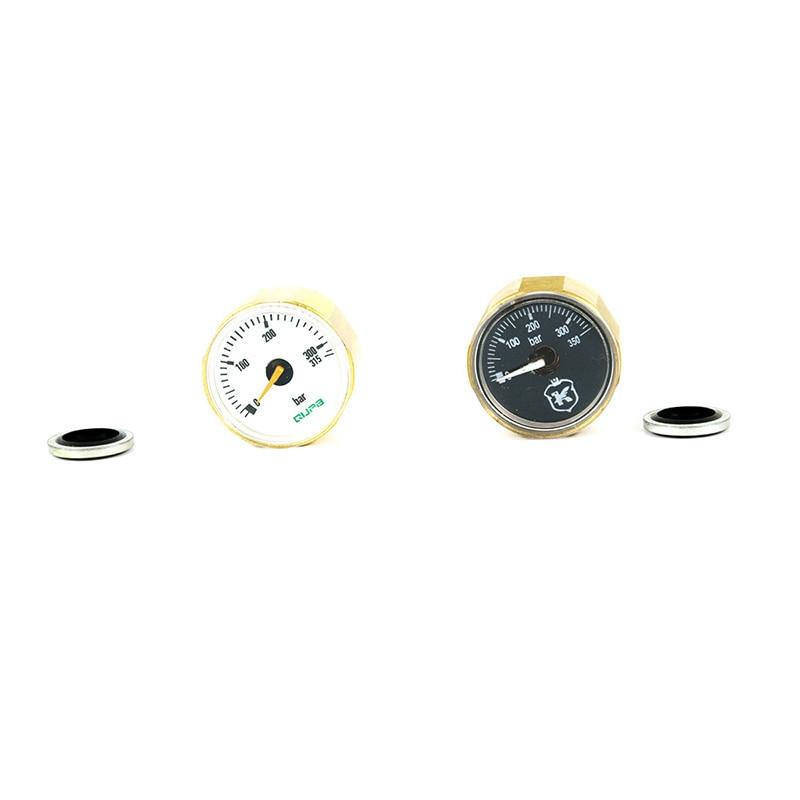 Airforce Manometer 28MM ED Gauge 315Bar Hochdruck 1/8BSP M10 * 1 Gewinde