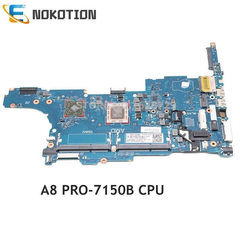 NOKOTION 802542-601 802542-001 768795-001 لإتش بي 745 G2 845 G2 اللوحة المحمول A8 PRO-7150B CPU DDR3 اختبار كامل