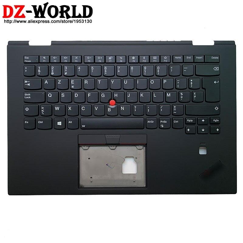 جديد الأصلي و Palmrest حالة العلوي مع البلجيكي الخلفية لوحة المفاتيح لينوفو ثينك باد X1 اليوغا 3rd الجنرال محمول 01LX822
