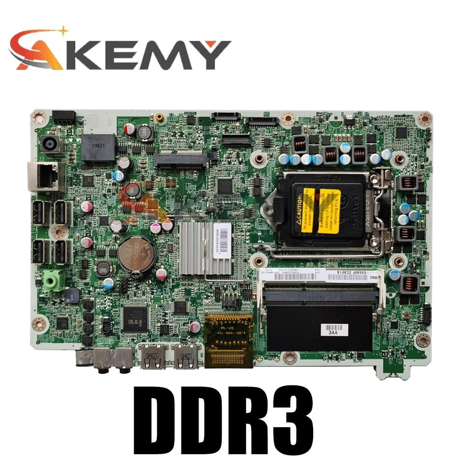 اللوحة الأم الأصلية لـ HP Omni 120 AIO ، تم اختبارها بالكامل ، 646908-003 665465-001 DA0WJ5MB6F0 ، H61 DDR3