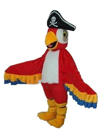 Piratas traje de mascota loro trajes Cosplay trajes de fiesta vestidos ropa Promoción de publicidad carnaval Halloween Pascua adultos