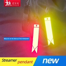 MEILITE-سلسلة مفاتيح عاكسة ، أضواء شمعة 500 ، سلاسل مفاتيح حقيبة حماية السلامة ، مفاتيح قلادة للاستخدام في سلامة المرور ، جديد