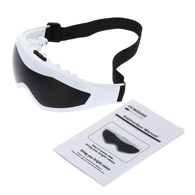 Electric Eye Massager Mask Migraine Eye Vision Improvement Forehead Eye Care Glasses Massage Wireless Vibration Eye Magnetic