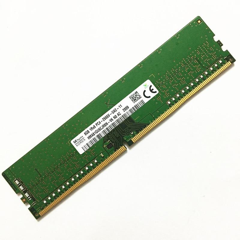SK هاينكس DDR4 8GB 2666MHz الكباش 8GB 1RX8 PC4-2666V-UA2-11 ddr4 2666 8gb ذاكرة عشوائيّة للحاسوب المكتبي