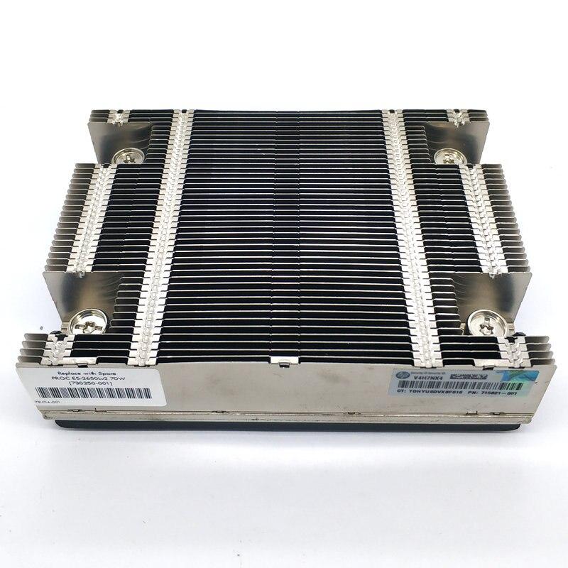 Original para HP DL360P G8 V1 V2 Servidor de ordenador disipadores de calor enfriador 734040-001 654757-001