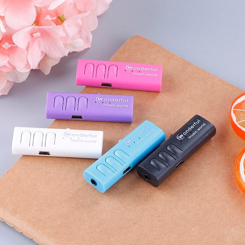 Портативный мини клип mp3-плеер спортивный USB Mp3 музыкальный плеер медиаплеер Поддержка Micro SD TF карта Walkman Lettore Mp3