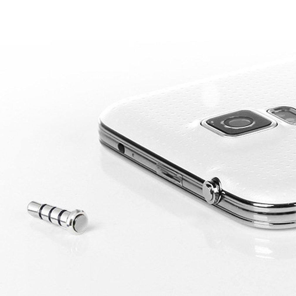 1/3/5/10 шт. 3,5 мм разъем для наушников быстрые клавиши Пылезащитная заглушка для Samsung Galaxy S4 S5 I9600 Android Smart Mobile Phone HOT!-1