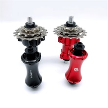 LITEPRO 14/16 pouces vélo pliant V frein moyeu vélo en alliage daluminium roulement 12/16 trous moyeux 3 vitesses