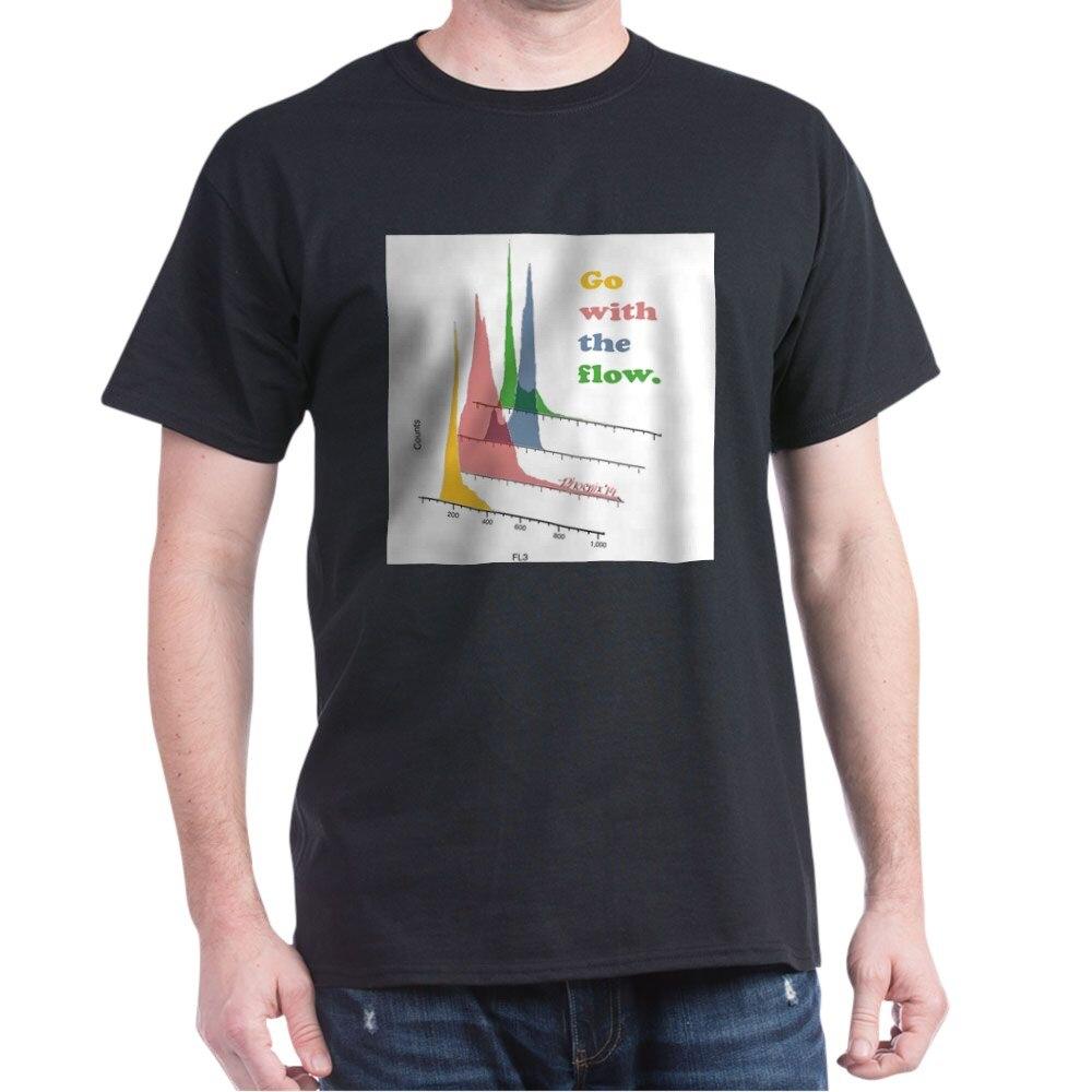 Ir con el flujo-citometría luz camiseta amor