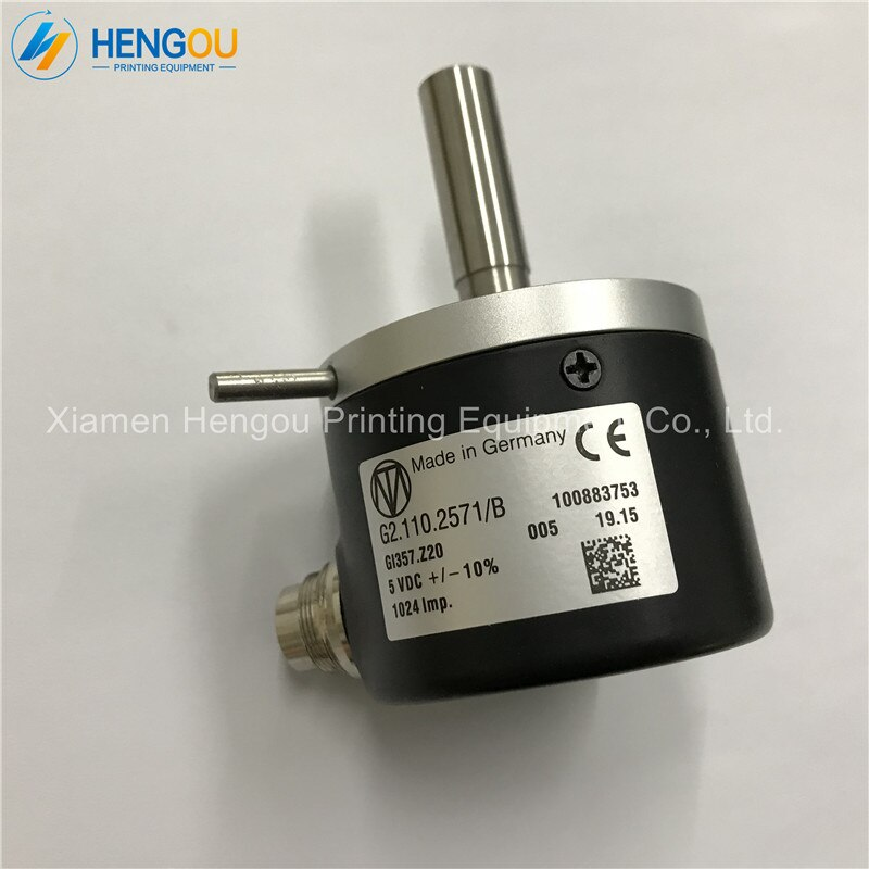 Codificador G2.110.2571/B de 1 pieza para máquina SM74, codificador OPT ENCD REL,SM102 G2.110.2571