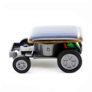 Smallest Solar Power Mini Toy Car Racer Educational Solar Powered Toy