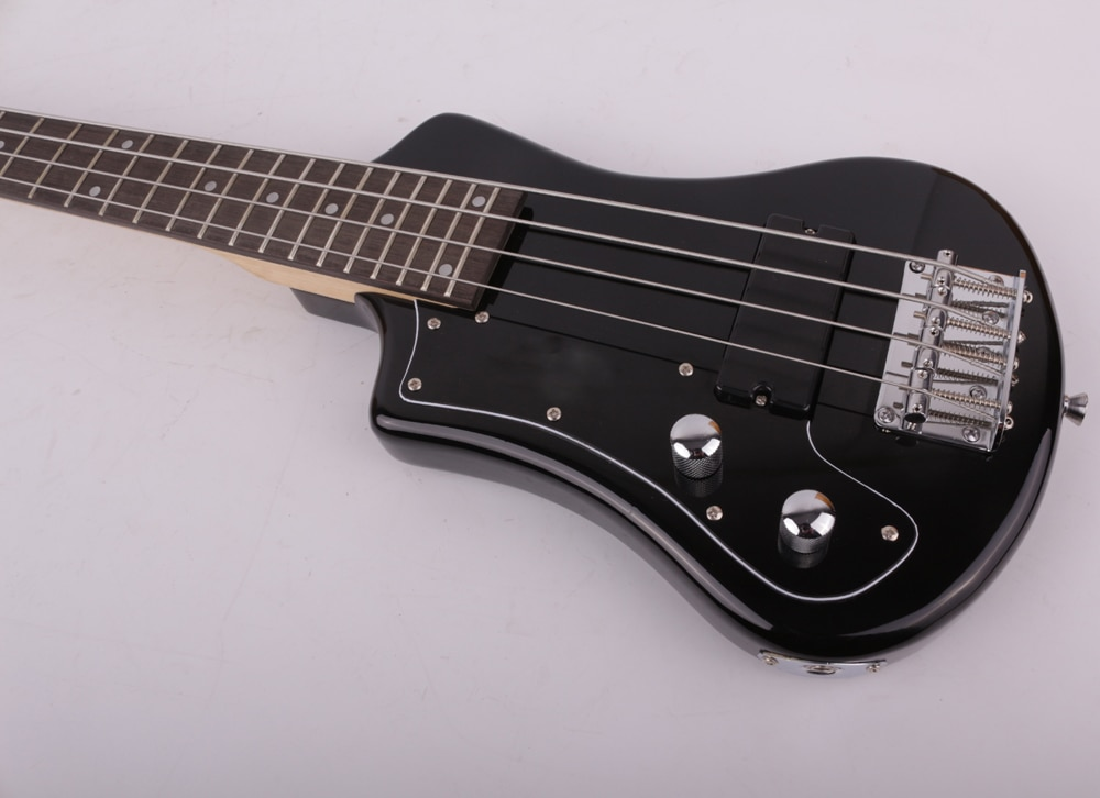 left lefty hand electric bass mini travel kid bass free shipping enlarge