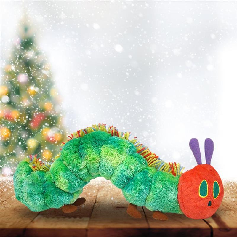 Cartoon Multicolor Caterpillar Plush Stuffed Toy 40CM Throw Pillow Cushion Kids Gift Cute Movie Character Birthday toy gifts 1pc 45 40cm simple pikachu pillow cushion plush toy dolls decorative pillows cartoon plush toys