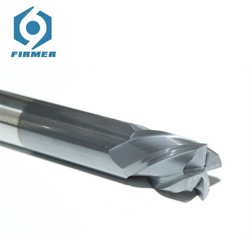 Herramienta CNC HSS 3.175mm cortador de fresado 45 grados espiral tungsteno acero recto herramientas de corte