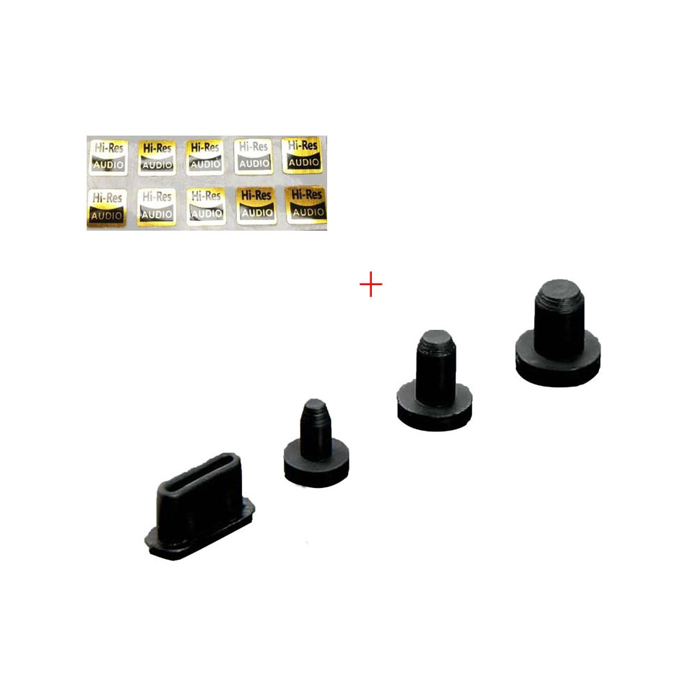 Enchufe antipolvo para iBasso DX220 DX200 DX160 DX150 para SHANLING M6 2,5 MM 3,5 MM 4,4 MM tipo C Jack
