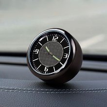 Car Decoration Clock Interior Air Vent Outlet Quartz Watch For PEUGEOT 307 508 408 RCZ 206 306 207 4
