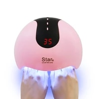 nail lamp 24w uv led nail dryer professional uv lamp salon at home lcd display sun light for all manicure pedicure gel dryer