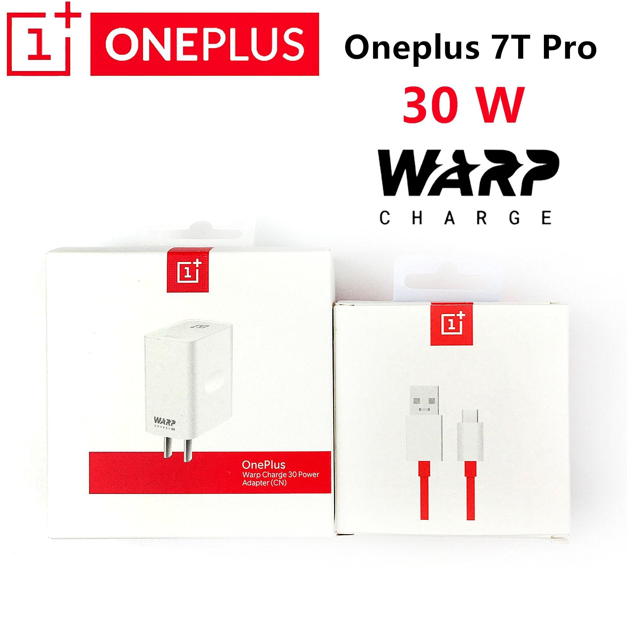 Oneplus 7t cargador pro Original plus 7 pro 7t 6t 5t 30W Warp adaptador de corriente de carga USB 100cm/150cm 6A tipo c warp cable USB