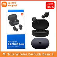 Original xiaomiredmi airdots 2 Global Version wireless headphones TWS Bluetooth 5.0 Earphone Noise reduction stereo microphone