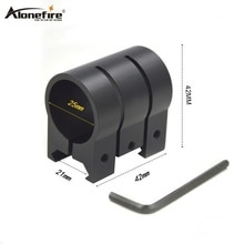 AloneFire M440 25mm Ring Weaver 21mm Picatinny Rail Dovetail Base Airsoft Rifle Shot gun light Laser sight Scope Hunting Mounts