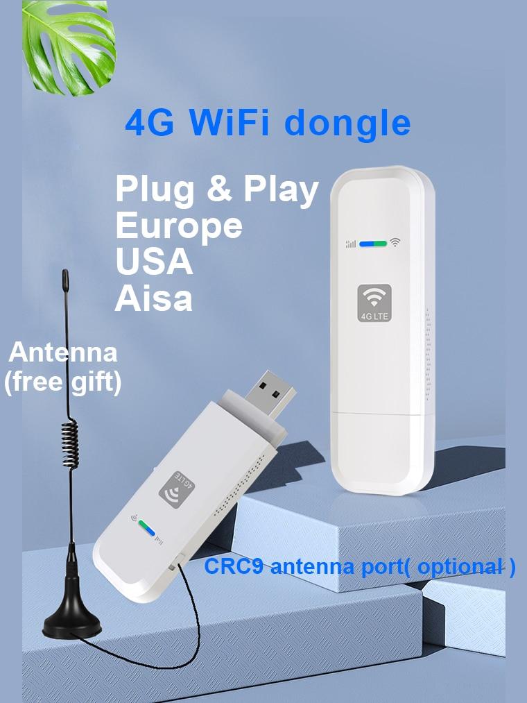LDW931 4G WiFi Router Mobile Portable Wireless LTE USB 4G modem nano SIM Card Slot pocket hotspot antenna WIFI dongle
