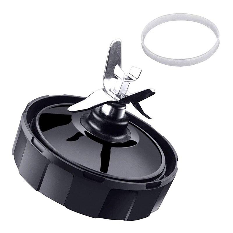 Top ofertas 7 aletas Extractor de cuchillas para licuadora Ninja piezas de repuesto con arandela de goma para Nutri Ninja de IQ BL486 BL642 N10