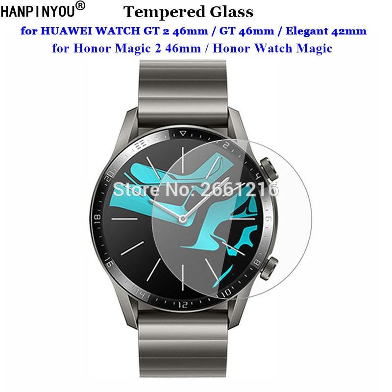 Для HUAWEI Honor Magic WATCH GT 2 2e GT2 GT2e 46 мм S1 элегантные 42 мм часы 1 2 Pro закаленное стекло 9H 2.5D Защитная пленка для экрана