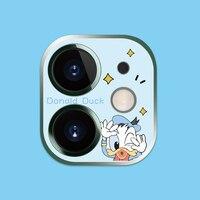 Защитное стекло для камеры Disney с Микки Маусом для iPhone 11 Pro Max, полное покрытие, защита экрана объектива для iPhone 11/11, защитное закаленное стекло