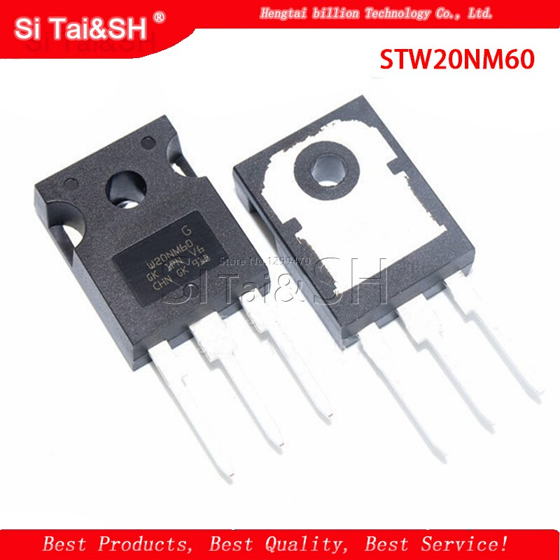 5 teile/los STW20NM60 W20NM60 20N60 ZU-247 20A 600V