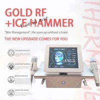 2 in 1 rf fractional micro needle machine with cold hammer anti acne shrink pores facial skin care tools stretch marks remover