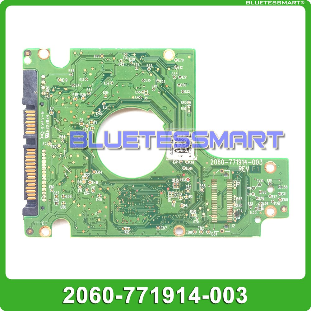 HDD PCB logic board 2060-771914-003 لـ 2.5 بوصة SATA إصلاح محرك الأقراص الصلبة hdd تاريخ الاسترداد WD5000LPVT
