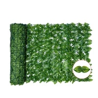 1pc artificial ivy privacy fence screen artificial hedges fence and faux ivy vine leaf decoration for outdoor decor garden