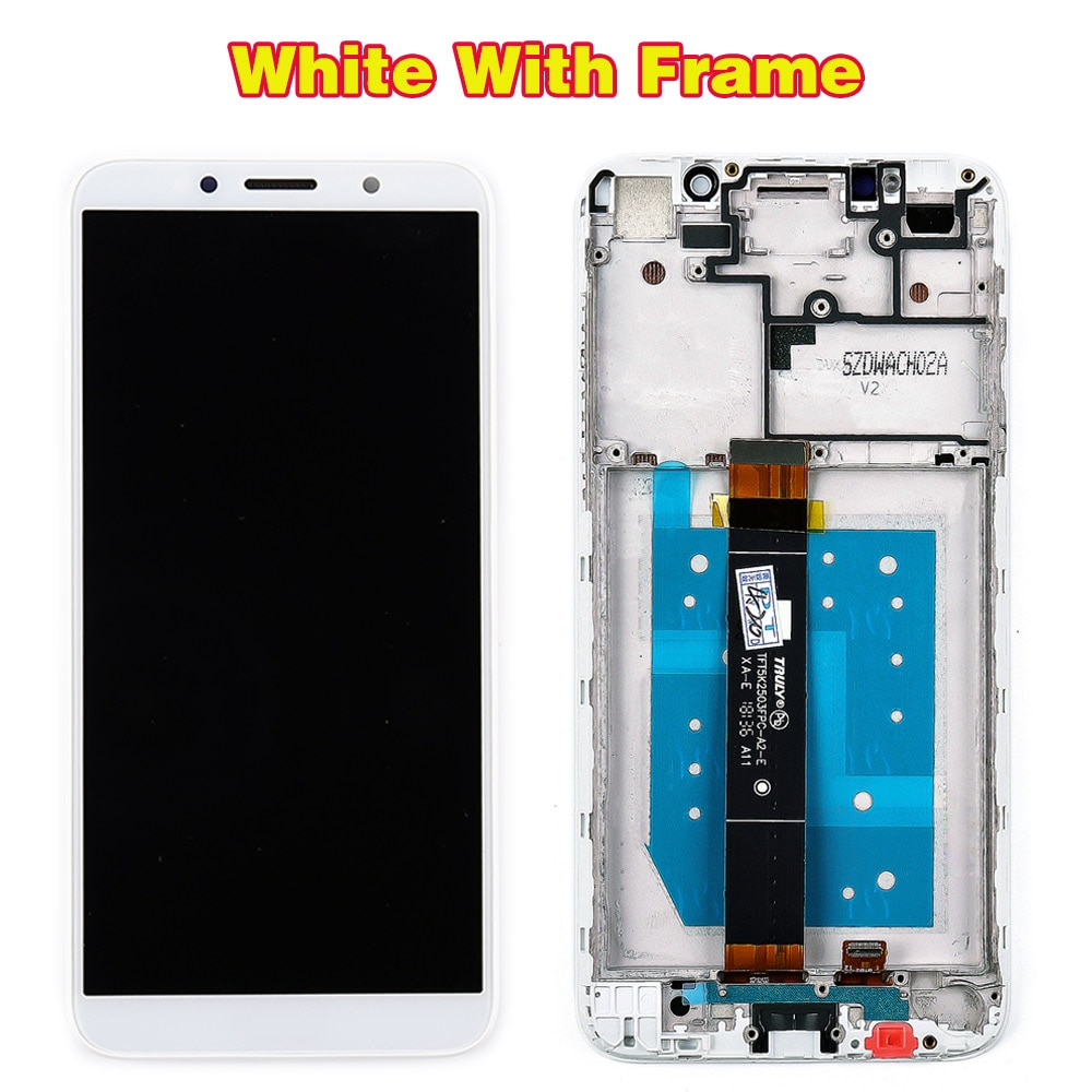 Vancca 5.45 inch LCD Display For Huawei Honor 7S 1440*720 Touch Screen Digitizer Assembly Honor 7A DUA-AL00 Frame Free Glassfilm