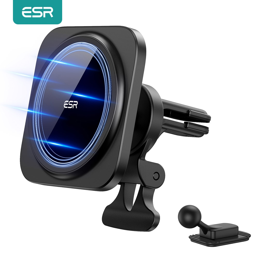 ESR Magnetic Car Phone Holder for iPhone 12 Pro/12 Pro Max Magnetic Phone Mount Stand HaloLock Car A