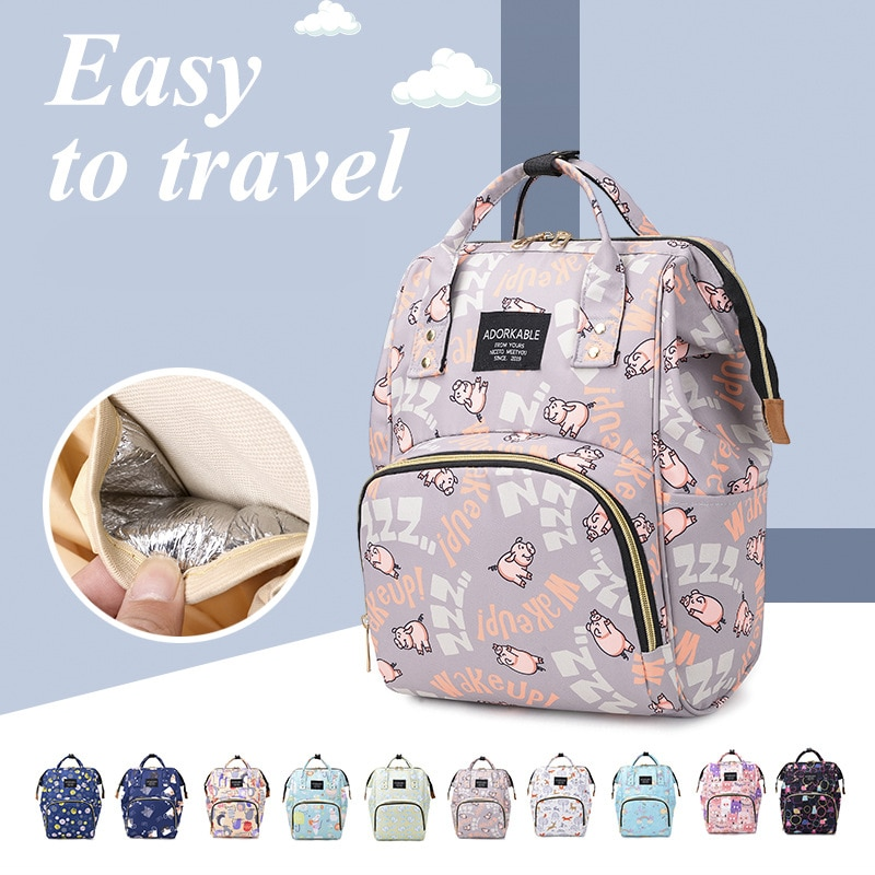 Diaper Bag Backpack Baby Bag Maternity Nappy Bags for Travel Large Capacity Waterproof Outdoor Travel Diaper