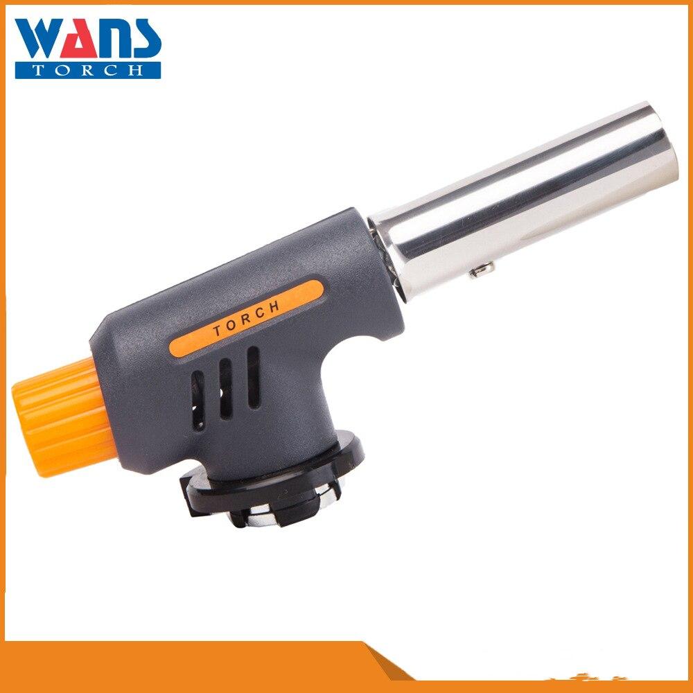 New Windproof Metal Butane Torch Welding Spray Gun Portable Ignition Gun For Welding Cooking Tool Survival Outdoor Gadgets Men enlarge