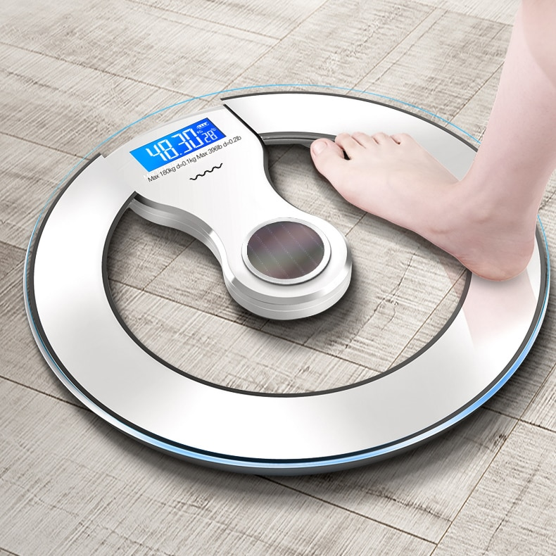 Lose Weight Scales Electronic Digital Precision Floor Led Balance Scale Glass Bathroom Pese Personne Home Products DE50TZC enlarge