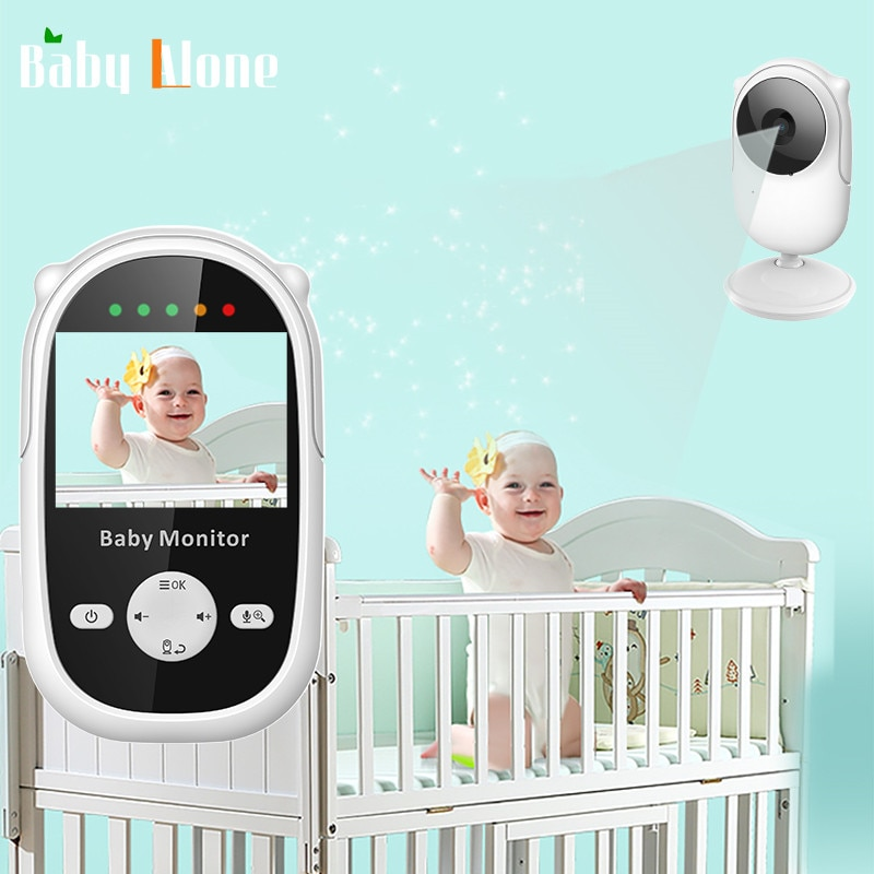 Wireless Video Color Baby Monitor with 2.4Inches LCD Audio Talk Night Vision Surveillance Security Camera Babysitter
